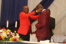 Installation of 2020-2021 President, Mr. Jasford Gabriel